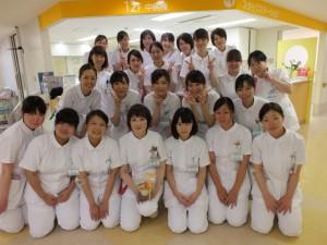 12階中病棟の看護師さん達♥︎